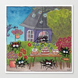 Garden Idyll Canvas Print