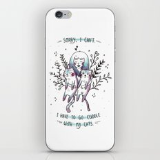 Cats are my BFFs iPhone & iPod Skin