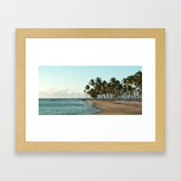 Hawaiian Evening Framed Art Print