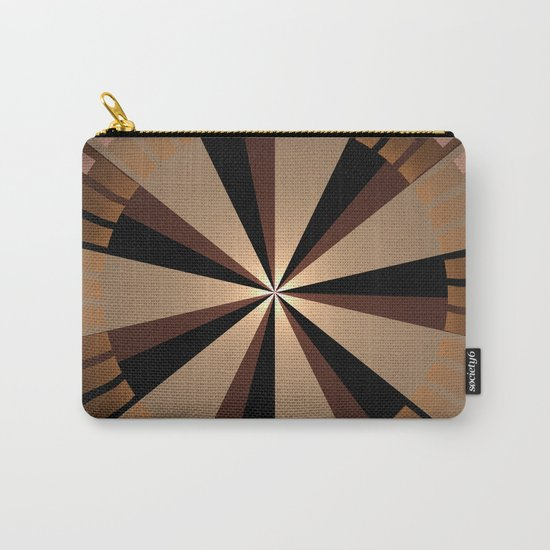 Golden beams, geometric pattern abstract Carry-All Pouch