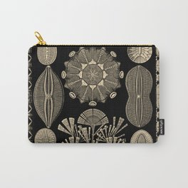 """""""Diatomea"""" from """"Art Forms of Nature"""" by Ernst Haeckel Carry-All Pouch"""
