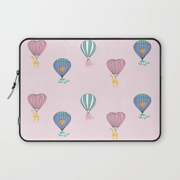 Sweet balloon dreams - pink Laptop Sleeve