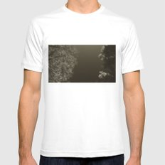 under night SMALL White Mens Fitted Tee