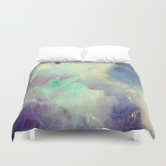 Up to Eternity Duvet Cover