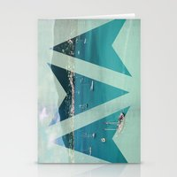 boats Stationery Cards featuring Boats by Ria*