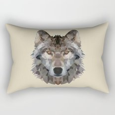 wolf trendy Rectangular Pillow