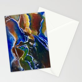 Good Luck Series: A vibrant glory Stationery Cards