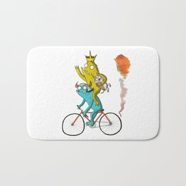 Bike Beasts Bath Mat