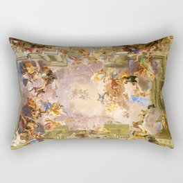 Sant'Ignazio di Loyola in Rome Rectangular Pillow