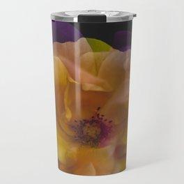 Roses (double exposure version) Travel Mug
