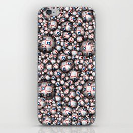 Abstract 3D Stars iPhone Skin