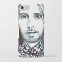 jared leto iPhone & iPod Cases featuring Jared Leto by ShayMacMorran