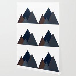 Minimal Mountain Range Wallpaper