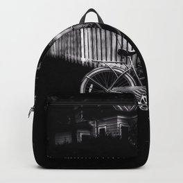 Grandmothers House - Black And White Backpack