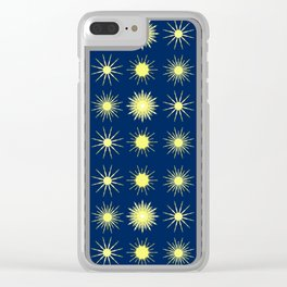 Dark and Starry Night. Clear iPhone Case