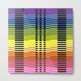 Patterns of Colors In Excel Metal Print
