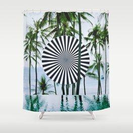 Tropical Trance Shower Curtain