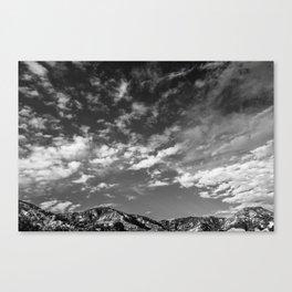 Lyttelton Sky Canvas Print
