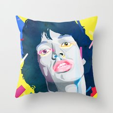 It's ok Mick Throw Pillow