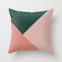 Geometric Summer Delight #1 #minimal #decor #art #society6 Throw Pillow