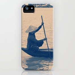 Sailing down the river iPhone Case