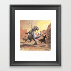 Gwangi Framed Art Print