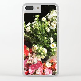 Fleurs de Paris Clear iPhone Case