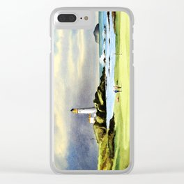 Turnberry Golf Course Scotland 10th Green Clear iPhone Case