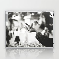 The man of birds Laptop & iPad Skin
