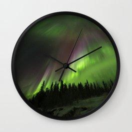Powerful Aurora Wall Clock