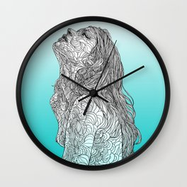 Sketch of Tender Hope Wall Clock