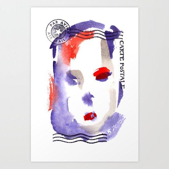Carte Postale 2 Art Print