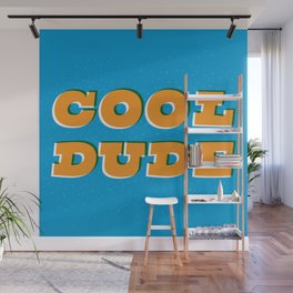 Cool Dude Wall Mural
