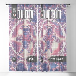 Quantum Tales 1st Issue Sheer Curtain