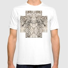 Cruciform Mens Fitted Tee MEDIUM White