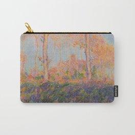 Poplars, Philadelphia by Claude Monet Carry-All Pouch