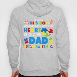 Dad Autism Awareness Special Fathers Gift Hoody