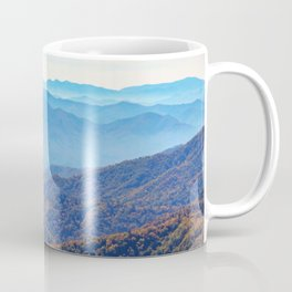 Smoky Mountain Layers Coffee Mug