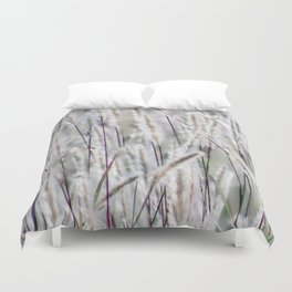 Wild grass Duvet Cover