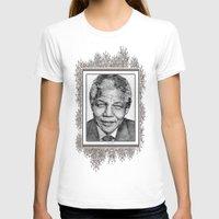 mandela T-shirts featuring Nelson Mandela by JMcCombie