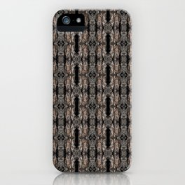Pine Bark Pattern by Debra Cortese Design iPhone Case