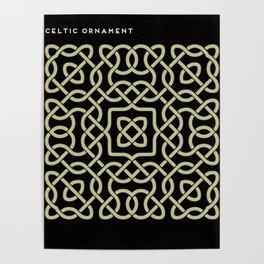 Celtic ornament Poster