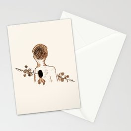 floral penetration. Stationery Cards