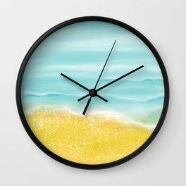 Beach front Wall Clock