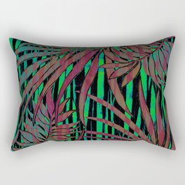 With the Heat of the Jungle, Comes the Cool of the Night Rectangular Pillow