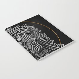 Barbarian Lion Notebook