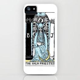 Modern Tarot - 2 The High Priestess iPhone Case