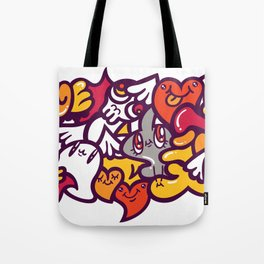 愛 - LOVE Tote Bag