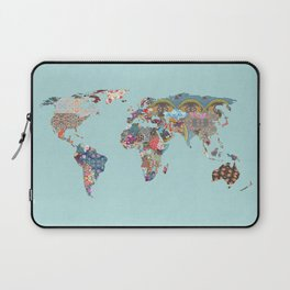 Louis Armstrong Told Us So (teal) Laptop Sleeve