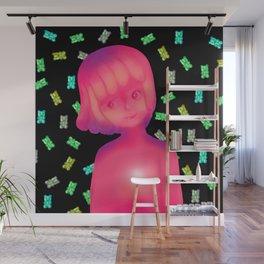 Gummy girl Wall Mural